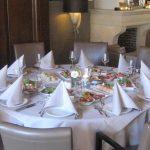 Pasen 2017 - Wapen van Beckum - Restaurant Bij Boenders - Tafel