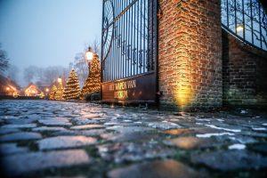 Wapen van Beckum - hek - kerst 2019